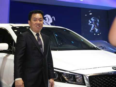 Ông Bùi Kim Kha - Phó Tổng Giám đốc THACO phụ trách mảng xe du lịch