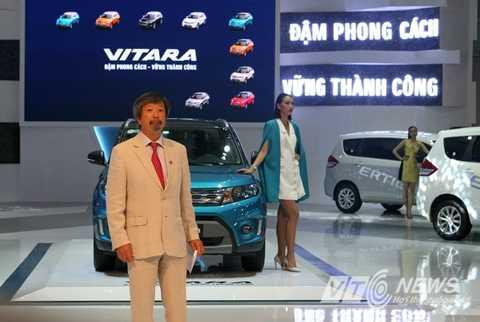 Ông Uto Harumichi - Giám đốc Bán hàng của Công ty Suzuki Việt Nam