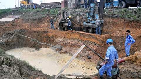 Vấn đề lớn nhất đối với Vinaconex là sự cố liên tục tại đường ống nước sạch sông Đà.