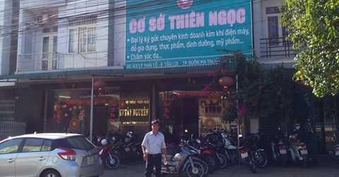 Trụ sở Công ty Thiên Ngọc Minh Uy tại khu vực Tây Nguyên. Ảnh: M. Q.