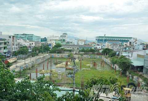 Dự án Đà Nẵng Center của Công ty Cổ phần địa ốc Vũ Châu Long với diện tích 7.878m2 nằm