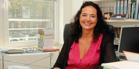 Bà Christine Defraigne giữ chức chủ tịch Thượng viện Vương quốc Bỉ từ ngày 14/10/2014. Ảnh: La Libre.be