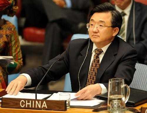 Thứ trưởng Ngoại giao Trung Quốc Lưu Chấn Dân