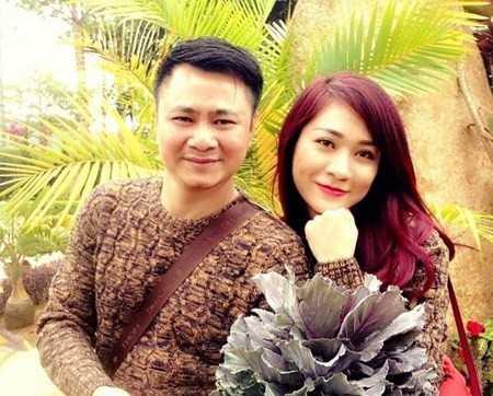 Tự Long và bà xã Minh Nguyệt