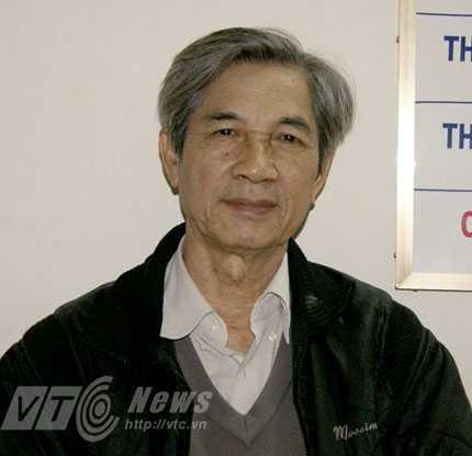 Ông Bùi Danh Liên - Chủ tịch Hiệp hội Vận tải Hà Nội.
