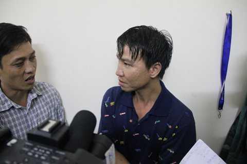 Anh Hoàng Văn Biên (29 tuổi, quê Hà Tĩnh) kể lại phút giây đối mặt với tử thần