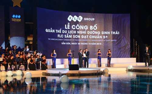 FLC Sầm Sơn đạt tiêu chuẩn khách sạn 5 sao đầu tiên tại Thanh Hoá