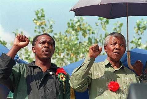 Tokyo Sexwale và cố Tổng thống Nelson Mandela