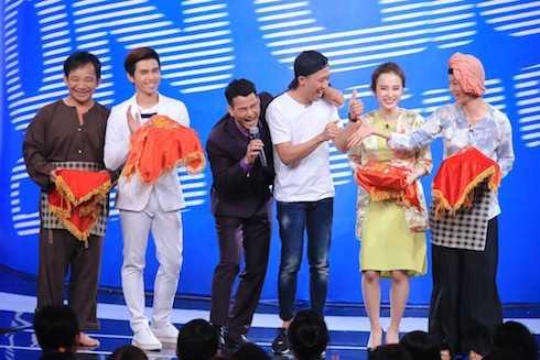 Bốn khách mời đầu tiên: Quang Tèo, Will, Angela Phương Trinh, Xuân Lan.