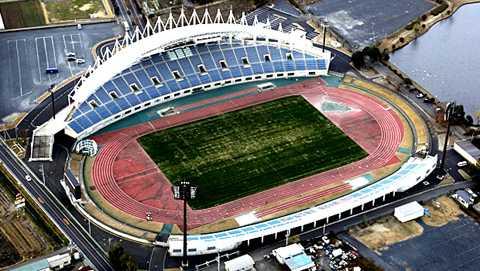 K's denki Stadium Mito - sân nhà của CLB Mito Hollyhock