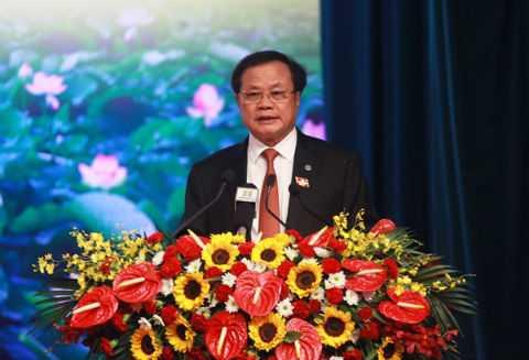 Bí thư Thành ủy Hà Nội Phạm Quang Nghị.