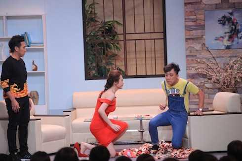 Angela Phương Trinh vào vai mẹ Trấn Thành với nhiều tình huống bi hài.