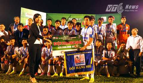 U21 An Giang có một giải đấu xuất sắc khi trở thành Á quân (Ảnh: Quang Minh)