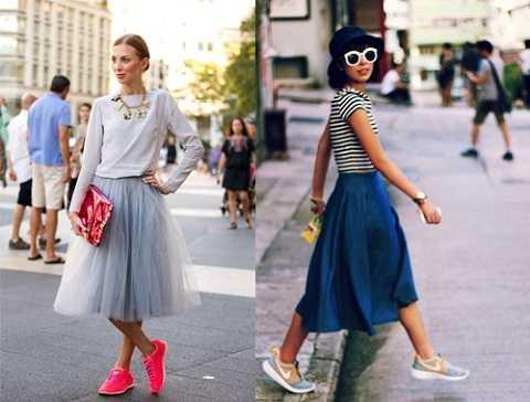 Không nên chọn váy quá xoè vì nó sẽ làm bạn trông lùn hơn.