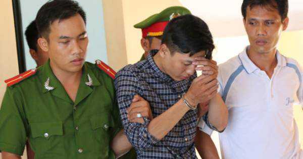 Hung thủ Nguyễn Hải Dương trong vụ thảm sát ở Bình Phước