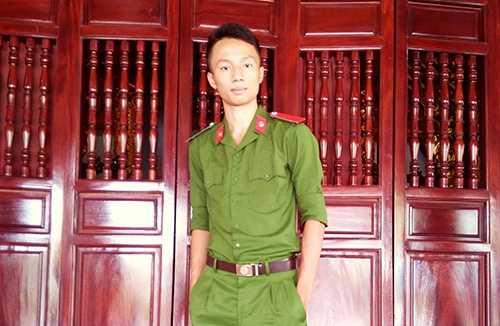 Nguyễn Bá Đức - Thủ khoa đầu vào khối A1, Học viện Cảnh sát Nhân dân.