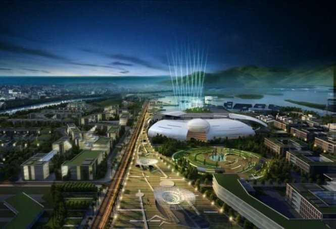 """Quy hoạch khu đô thị hành chính mới tỉnh Khánh Hòa và """"nhà trứng lớn"""" dành cho các cơ quan chính quyền tỉnh Khánh Hòa - Nguồn ảnh: Viện Quy hoạch đô thị - nông thôn quốc gia"""