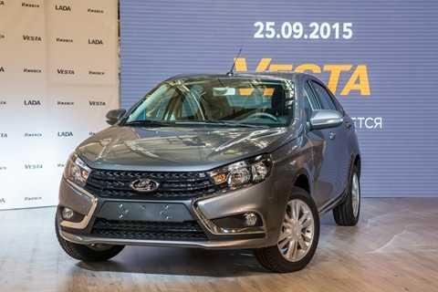 Ra mắt công chúng hôm 25/9, AvtoVAZ cam kết bán xe ra thị trường Nga sau 2 tháng với mức giá chỉ từ 7.500 USD