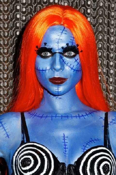 Michelle Tratchenberg kết hợp ý tưởng hóa trang giữa Corpse Bride