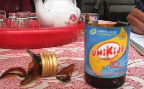 Sau khi uống siro UniKids này cháu bé đã tử vong.