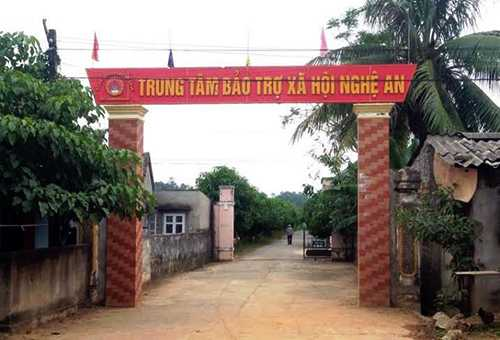 Trung tâm bảo trợ xã hội Nghệ An. Ảnh: Cao Thái
