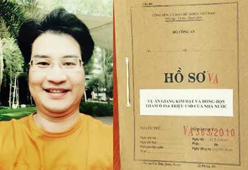 Giang Kim Đạt bị bắt ngày 7/7/2015 tại Singapore sau hơn 1.800 ngày trốn truy nã. Ảnh: Công an Nhân dân