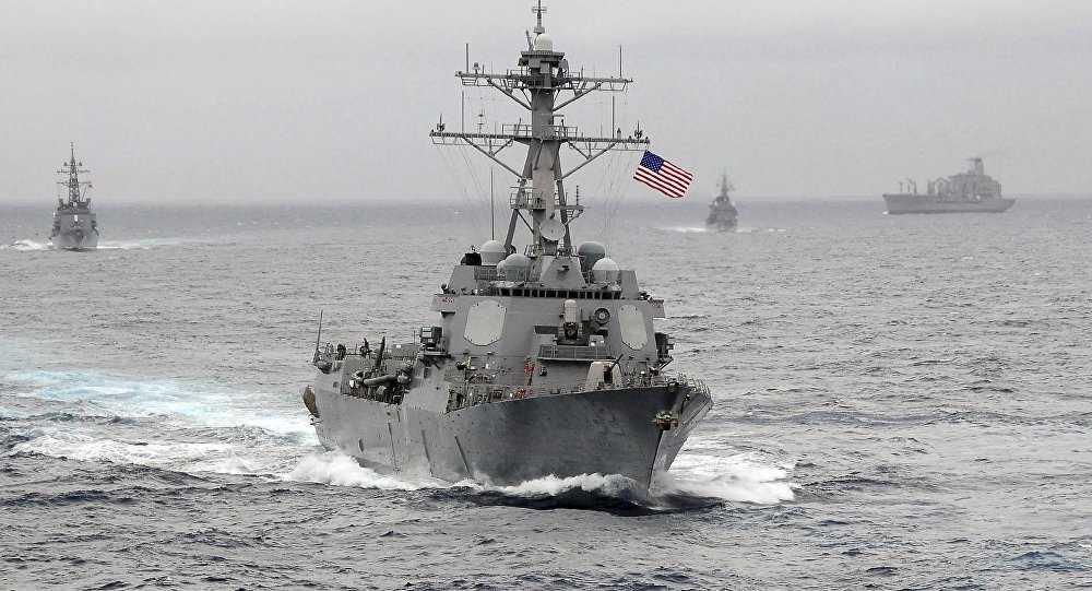 Chiến hạm USS Lassen của Hải quân Mỹ