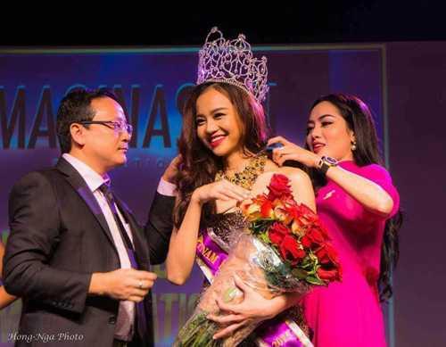 Kiều Ngân đăng quang Hoa hậu Việt Nam Toàn cầu tại Mỹ
