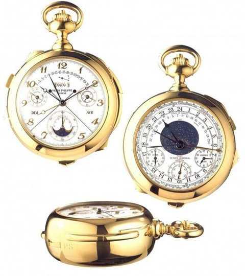 chiếc đồng hồ có cấu tạo phức tạp nhất trên thế giới