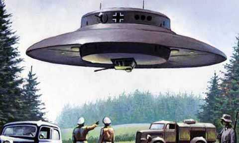 UFO là phương tiện di chuyển