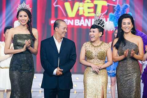 Mặc dù là người khá hài hước và vui tính nhưng theo 6 thí sinh của chương trình thì Việt Hương là một giám khảo khó tính.