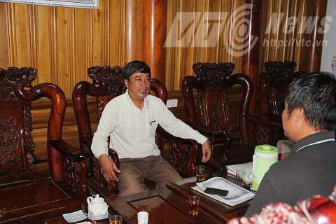 Ông Phan Huy Thanh cho biết, hiện tại tất cả chỉ là suy diễn, không có căn cứ