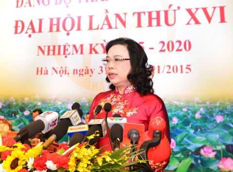 Bà Ngô Thị Thanh Hằng.