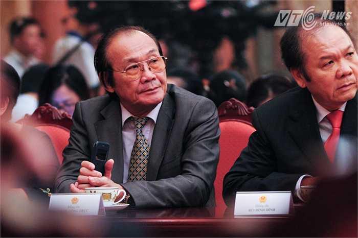 Ông Trần Công Trục (trái), Cựu Trưởng Ban biên giới Chính phủ