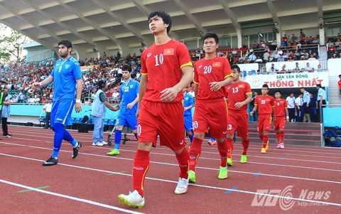 U23 Việt Nam sẽ có những trận đấu tập với