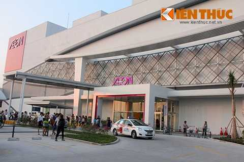 Aeon Mall Long Biên (Hà Nội) của tập đoàn Aeon Nhật Bản vừa khai trương.