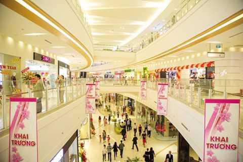 Bên trong trung tâm thương mại Aeon Mall Tân Phú (TP HCM).