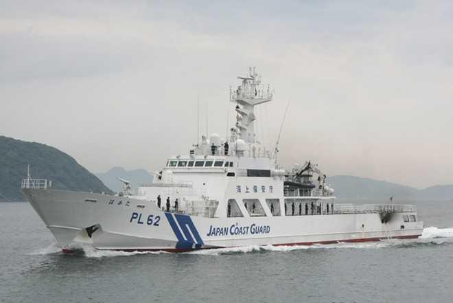Tàu tuần tra của lực lượng bảo vệ bờ biển Nhật Bản