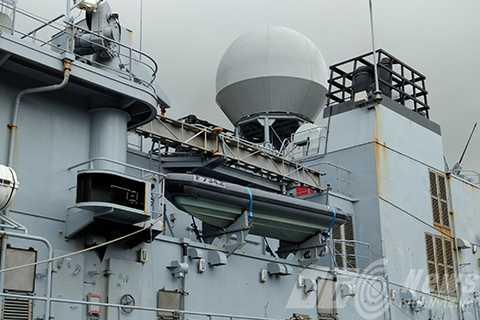 Tàu được trang bị hệ thống thiết bị quân sự tối tân