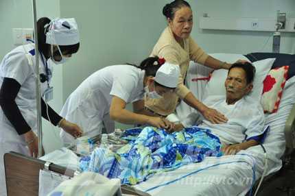 Cần nâng cao thể trạng cho bệnh nhân ung thư.