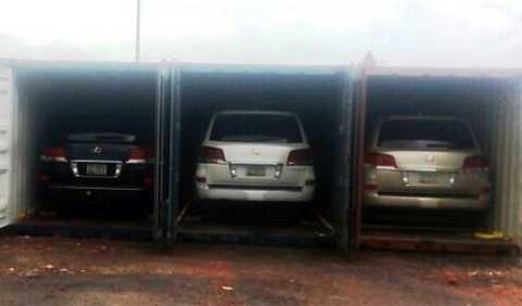 Lô xe sang trong vụ án buôn lậu tại cảng Đà Nẵng