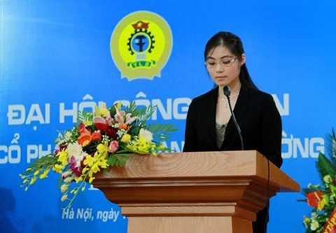 Là con gái duy nhất của doanh nhân quá cố Trần Văn Cường