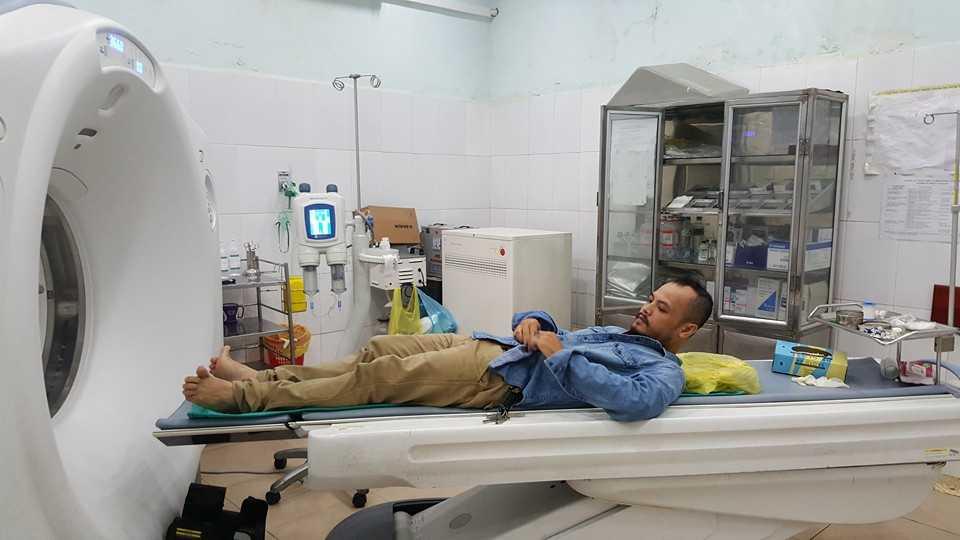 Trần Lập nhập viện chuẩn bị cho ca phẫu thuật vào ngày mai