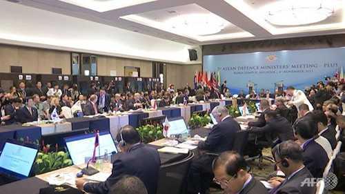 Hội nghị ADMM+ kết thúc mà không ra được bản tuyên bố chung
