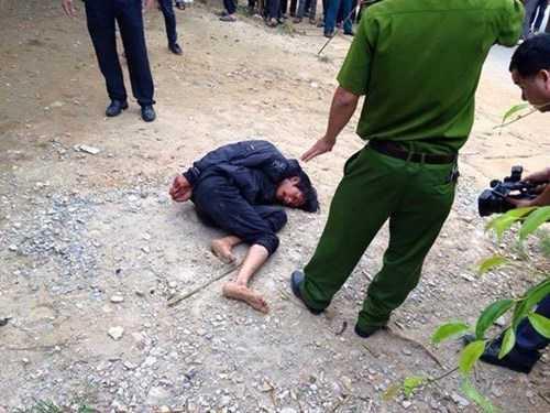 Ma Đình Tiệp bị công an bắt giữ sau khi gây ra vụ án mạng.