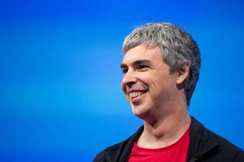 Larry Page từng có thời là một quản lý rất khắc nghiệt. Ảnh: Getty Images.
