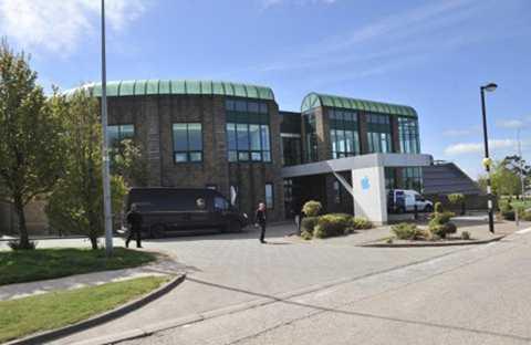 Nơi đặt văn phòng của AOI tại Cork, Ireland. Ảnh: Reuters