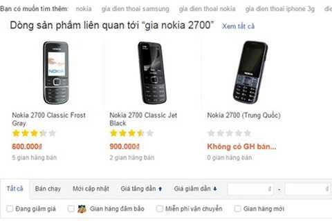 Người dùng cần cảnh giác với những chiếc điện thoại Trung Quốc giá rẻ bán nhiều trên mạng. Ảnh chụp màn hình minh họa.