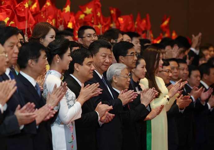 Gặp gỡ hữu nghị thanh niên Việt - Trung lần thứ 16 (Ảnh: Độc Lập)