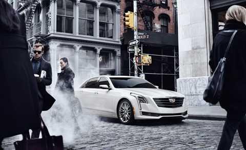 Cadillac CT6 2016 - đối thủ của BMW 7-Series